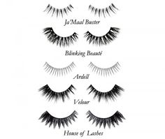 Lashes <3 Ardell ~JaMaal Buster ~ Blinking Beaute ~ Velour ~ House of Lashes