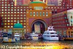 Romantic dinner cruise on the Odyssey in Boston Harbor
