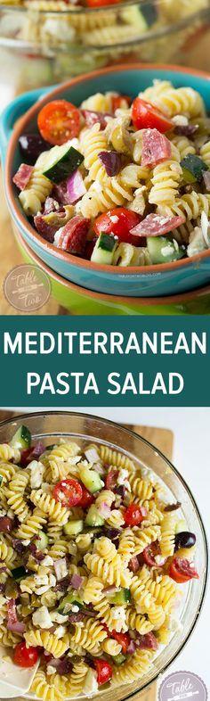 Mediterranean Pasta on Pinterest | Mediterranean Pasta Salads, Pasta ...