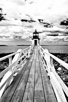 Great Photo. Nautical Photograph Lighthouse Marshall Point by MDanielsonPhoto, $45.00