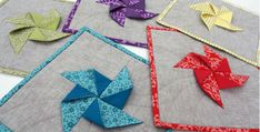 These 3D Pinwheels Can Be Used in Many Projects! These potholders are colorful and fun, and so different from other potholders we've seen. They'll be wonderful in your kitchen and to give as gifts. Plus, the 3D pinwheels are sparking our imagination. They could be used in so many other quilting projects. We can definitely …