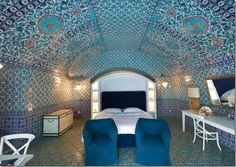 Rudolph Nureyev's Former Italian Island becomes Mariah Carey's Secret Retreat: Rudolph Nureyev Interior Villa
