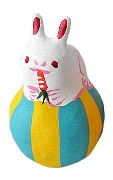 Toyonaga Морито работа Tamanori кролик малых голубой (5720)