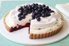 Blueberry Refrigerator Pie recipe
