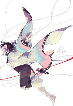 Kimetsu no Yaiba Manga Anime, Anime Demon, Manga Art, Anime Boys, Anime Art, Demon Slayer, Slayer Anime, Anime Kawaii, Manga Games
