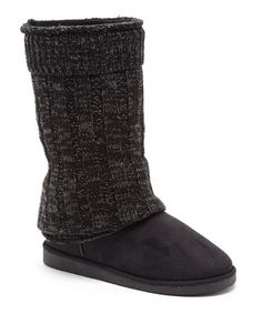 7b19861e55be2 Black Eamon Boot by Serene Comfort  zulilyfinds Zapatos Bonitos