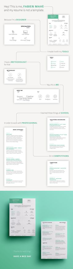 20 best Ref. images on Pinterest | Resume design, Advertising and ...