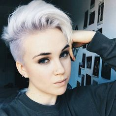 awesome 45 Unique Short Hairstyles For Round Faces – Get Confident and Stylish #shorthairstylesforroundfaces