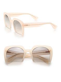 a9abf0a96873 Miu Miu - Cropped 53MM Square Sunglasses
