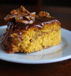 "Pumpkin ""Cinnamon Roll"" Coffee Cake"