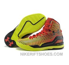 huge selection of ddc7b 69d38 Under Armour Stephen Curry 1 Shoes 2015 Red Yellow Christmas Deals FX7B3,  Price   118.00 - Nike Rift Shoes
