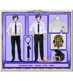 """Uta no Prince-sama – Ichinose Tokiya Summer School Uniform Cosplay Costume   Uta no Prince-sama - Ichinose Tokiya Summer School Uniform Cosplay Costume After receiving many customer requests we are delighted to finally be able to present to you for your enjoyment the """"Uta no☆Prince-sama♪"""" series of costumes!    These costumes are designed to be authentic replicas of their original and each one is manufactured with an exacting attention to detail.   We take great pride in the quality .."""