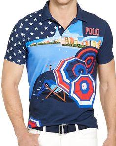 8022ce1e3eee Team USA Featherweight Polo - Polo Ralph Lauren Custom Fit - RalphLauren.com  Team Usa