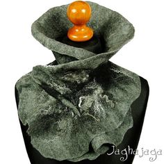 Check out this item in my Etsy shop https://www.etsy.com/listing/256894838/neck-ruff-felted-scarf-felted-collar