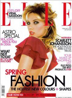 Elle Magazine, Scarlett Johansson