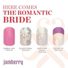 Romantic wedding - perfect nails for brides and bridesmaids Bride Nails, Wedding Nails, Jamberry Wedding, Formal Nails, Jamberry Nail Wraps, Makes You Beautiful, Stylish Nails, Perfect Nails, Brides And Bridesmaids