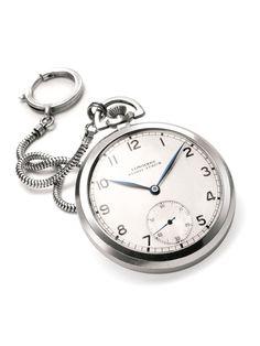 Prof. Einstein's Longines pocket watch