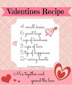 valentine's day poem cloze activity and minibook - english | poem, Ideas