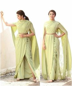 indian designer wear Latest trends in Beauty, Fashion, Indian outfit ideas, Wedding style on your mind? We bring to you hand picked collections for inspi Indian Fashion Dresses, Indian Gowns, Indian Designer Outfits, Indian Attire, Designer Dresses, Fashion Outfits, Indian Fashion Trends, Designer Sarees, Indian Engagement Outfit