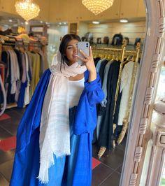 Iranian Women Fashion, Womens Fashion, Hijab Fashion, Fashion Dresses, Blue Mermaid Prom Dress, Red Slip Dress, Persian Girls, Linen Shirt Dress, Abaya Dubai