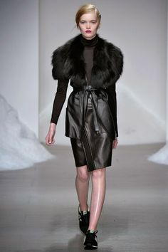 Ruth Bell for Simon Gao, London Fashion Week A/W14