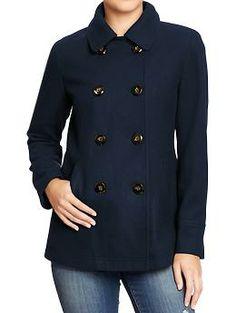 Women's Classic Pea Coats | Old Navy