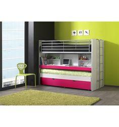 Voici une variante du lit combiné qui est un lit compact à 2 places + tiroir-lit. Incroyable non? Mais vrai! vous propose ce sublime lit multifonctionnel e...