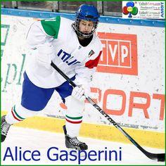 Hockey su ghiaccio, Alice Gasperini segna a Cracovia