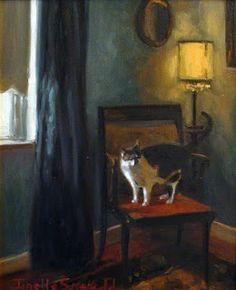 Jonelle Summerfield Oil Paintings: How to Get Comfortable?