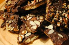 Gluten and Dairy Free Toffee Recipe (use coconut crystals and homemade paleo crackers instead)