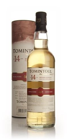 Scotch to Try - Tomintoul 14 Year Old, Speyside:   Nose: Gentle, very subtle. Warm pastries, apple blossom, hints of toffee, citrus, gentle fruit.  Palate: Vanilla, creamy, more blossom, barley.  Finish: Good length, spices.