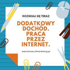 Dodatkowa praca przez internet Copywriting, Bujo, Life Hacks, Internet, Letters, Marketing, Motivation, Business, Inspiration