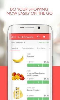 Image result for supermarket app Fresh Vegetables, Fresh Herbs, Fresh Fruit, Ui Ux Design, Layout Design, Supermarket App, Malta, Apps, Image