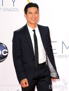 Mario Lopez arrives at the Academy of Television Arts & Sciences 64th Primetime Emmy Awards at Nokia Theatre L.A. Live.