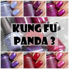 Morgan Taylor Kung Fu Panda 3 Collection Review and Swatches