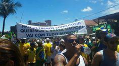 Manifestação em Salvador contra a corrupção e pela saída da presidente Dilma Rousseffhttp://exame.abril.com.br//brasil/noticias/as-imagens-dos-protestos-contra-dilma-deste-domingo/lista