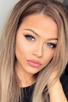39 Everyday Makeup Ideas For Beautiful Ladies - Frisuren & Make-up - Maquillaje Beauty Make-up, Beauty Hacks, Hair Beauty, Beauty Tips, Beauty Products, Everyday Make Up, Everyday Makeup Routine, Makeup Tutorial For Beginners, Beginner Makeup