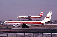 Photo ID: 0520681 Views: 4680 Trans World Airlines - TWA Boeing 707-131B (N6727) shot at Los Angeles - International (LAX / KLAX) USA - California October 1977 By Frank C. Duarte Jr.