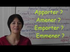 Vidéo 6'39 (Français) - Apporter ? Amener ? Emporter ? Emmener ? - https://www.youtube.com/watch?v=Pe5NkkufYVE&feature=share