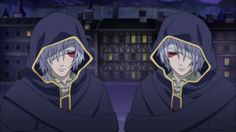 Tegami Bachi R ~~ Tragic surviving brothers. Last two of a set of identical triplets.