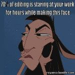 Editors and sub-editors will relate to this  - via @everglade3