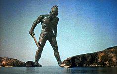 Talos ou Devasto era um gigante de bronze e existem várias versões sobre sua genealogia. Às vezes era considerado filho de Cres, rei de Creta ou de Hefesto.