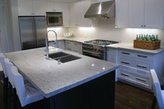 river white granite counertops | Granite Quartzite Marble Quartz Countertops - contemporary - kitchen ...
