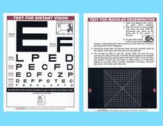 home vision test chart