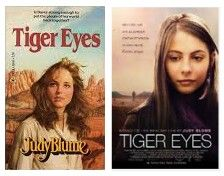 Tiger Eyes by Judy Blume. Movie released on June 7, 2013.