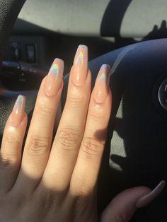 48 summer acrylic coffin nails designs 2019  nails  uñas