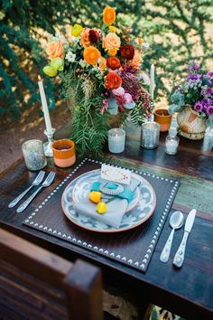 Southwestern Boho Styled Shoot with Pretty Pops of Color - www.theperfectpalette.com - Rachael Koscica Photography, Juli Vaughn Designs