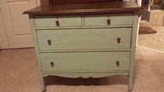Chest painted in Sage Shadow Farmhouse Paint
