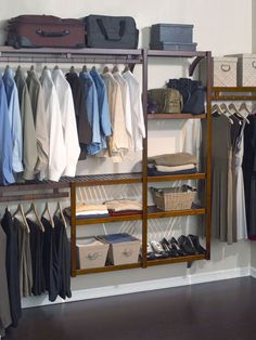 Closet storage systems have become increasingly popular over the last several years, and for good reason. They do a great job of maximizing precious closet storage. The problem is that the systems, especially those installed by contractors, often cost a small fortune.  Save money by building your own system from plans online. Or buy preassembled units made from wood or metal. Choose one that offers a variety of options, such as shelves for folded clothes, rods for hanging dress shirts and…