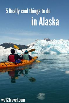 5 Really cool things to do in Alaska this summer -> check our blog for super cool (And cold) inspiration!: